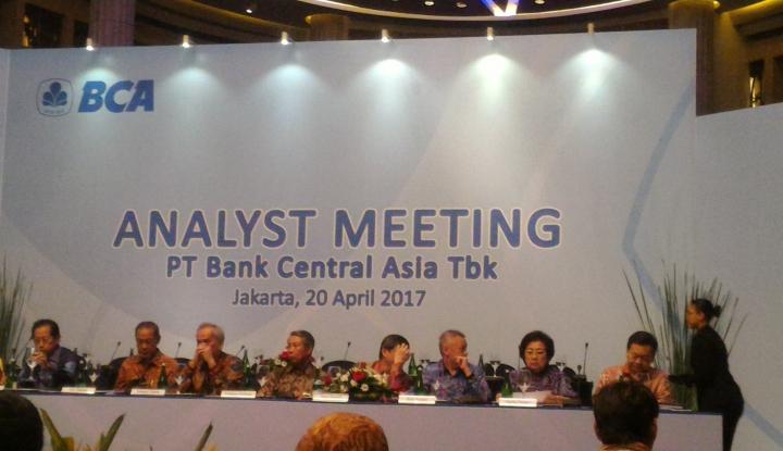 Foto Berita BCA Siapkan Rp3 Triliun Akuisisi Dua Bank
