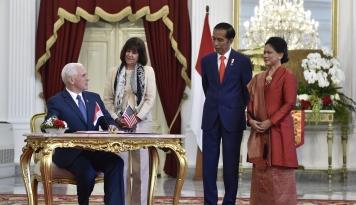 Foto Jokowi Ingin Hubungan Ekonomi dengan AS Saling Menguntungkan