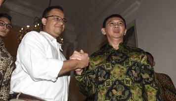 Foto Hasil Survei Ahok Keokan Anies, Gerindra Masih Gak Terima?