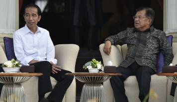 Foto Raja Swedia Temui Jokowi Bahas Proyek Infrastruktur