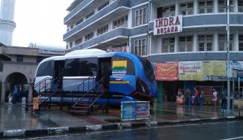 Foto LRT Metro Kapsul Bandung Tidak Berdampak Negatif pada Angkutan Masal