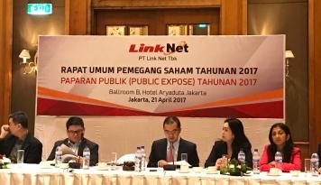 Foto Link Net Targetkan Pendapatan Rp3,39 Trilliun Tahun Ini