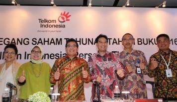 Foto Telkom Alokasikan 70% Laba Bersih untuk Pemegang Saham
