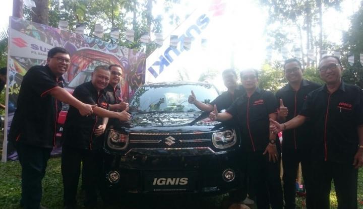 Foto Berita Suzuki Fokus Jual Mobil Penumpang di Balikpapan