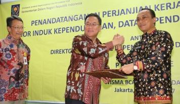 Foto BCA Finance Gandeng Dirjen Dukcapil Kemendagri