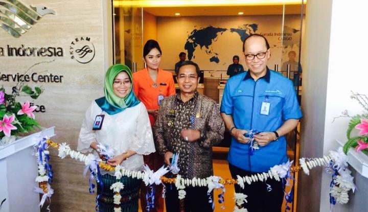 Foto Berita Garuda Buka Kantor Kargo Regional Indonesia Timur di Makassar