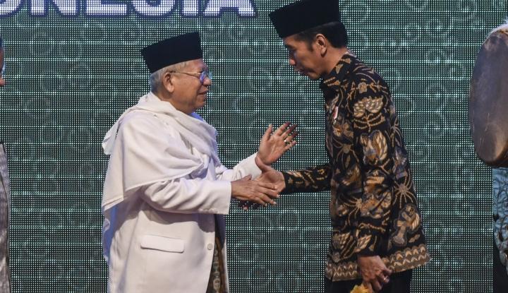 Foto Berita Jokowi-Ma'ruf Siap Penuhi Tantangan Baca Alquran dari IDA, Waktunya?