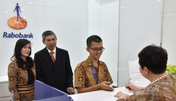 Foto Rabobank Buka Kantor Cabang di Semarang Pandanaran