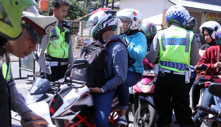 Foto Berita Mayoritas Pelanggar Lalin Tak Miliki SIM