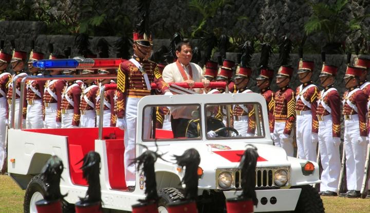 Menyikapi Filipina Jadi Basis Rudal AS, Duterte: Saya Tidak Izinkan Pasukan Asing - Warta Ekonomi