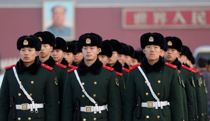 Foto Berita Anggaran Pertahanan Cina Naik Jadi $173 Miliar di 2018