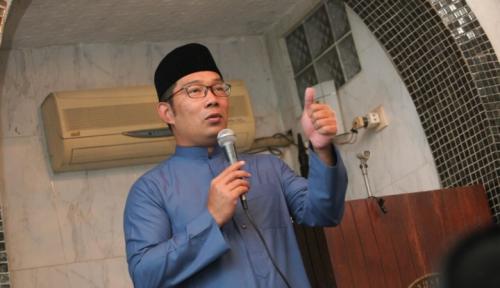 Foto Dua Kepala Daerah Ini Ogah Jadi Cawagub Ridwan Kamil