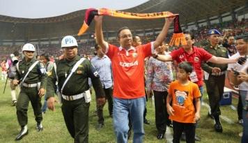 Foto Belum Tahu di Mana, Tapi Anies-Sandi Telah Siapkan Konsep Stadion Persija