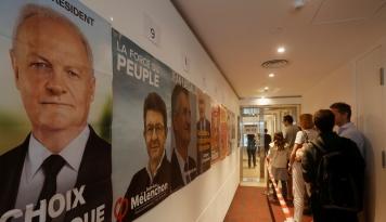 Foto Pemilihan Presiden Perancis Mulai Digelar, Akankah Populisme Berjaya?