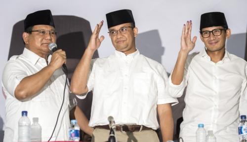 Foto Ditanya Mau Nggak Jadi Cawapres Prabowo, Anies: Dilihat Dulu!