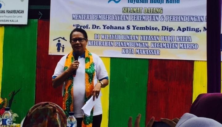 Menteri Yohana: Tak Ada Ampun Bagi Pelaku Kekerasan Anak - Warta Ekonomi