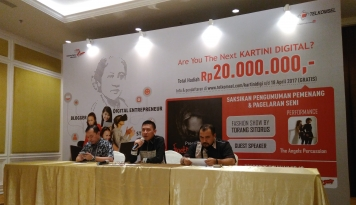 Foto Telkomsel Gelar Kartini Digital Competition 2017