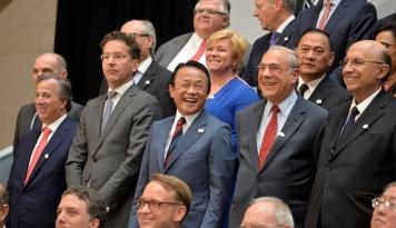 Foto Jepang Ingatkan G20: Proteksionisme Bakal Ganggu Pasar