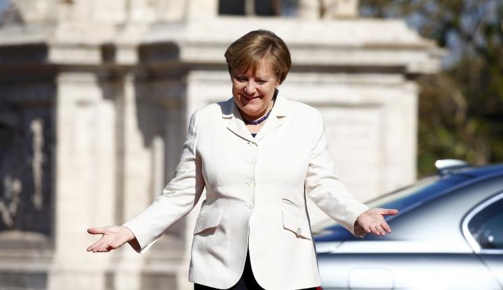 Foto Berita Angela Merkel Jadi Kanselir Jerman Keempat Kalinya?