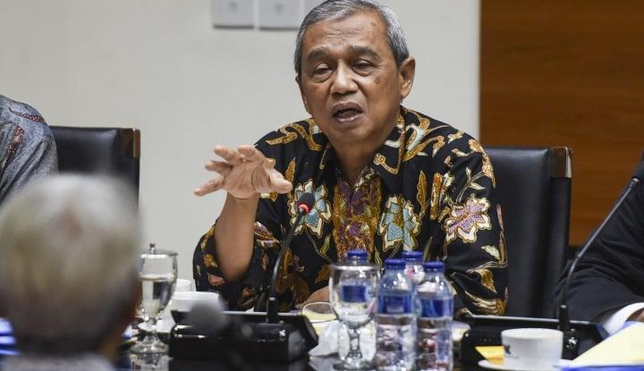 Foto Berita Lobi DPR, Busyro Muqoddas Sebut Hakim MK Tidak Netral Lagi