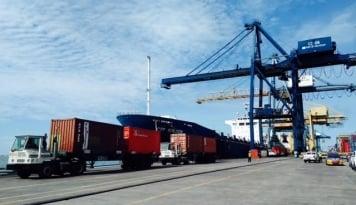 Foto Pembangunan Pelabuhan Pesawan Capai Rp250 Miliar