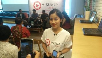 Foto VisualTV.Live Situs TV Online Pertama di Indonesia