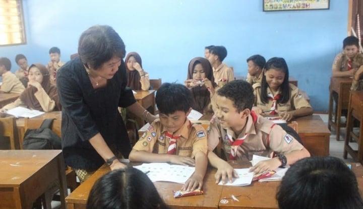 Foto Berita Hari Pertama, PGRI: Selamat Datang di Sekolah