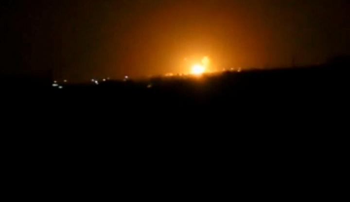 Foto Berita AS Mulai Lancarkan Serangan Militer ke Suriah