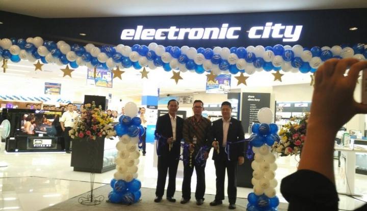Foto Berita Perluas Jaringan, Electronic City Hadir di Cileungsi
