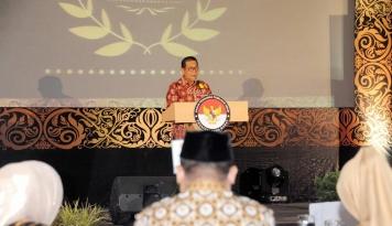 Foto Deddy Mizwar Imbau Bawaslu Tingkatkan Pengawasan Pilkaser dan Pemilu