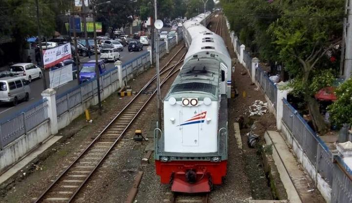 Foto Berita Keterisian Kereta Api dari Bandung Capai 100 Persen Selama Libur Imlek