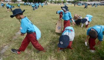 Foto 1.500 Siswa Ikuti Edukasi Sampah