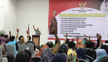 Foto Kemenkop: Pola Pikir Mahasiswa Harus Diubah