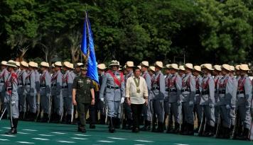 Foto Filipina Stop Perundingan Perdamaian dengan Pemberontak