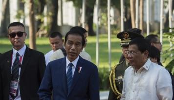 Foto Parlemen Filipina Susun Strategi Makzulkan Duterte