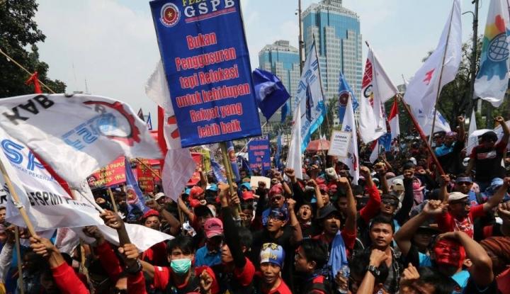 UMP Hanya Rp4,2 Juta, KSPI Bakal Turun Demo Lagi - Warta Ekonomi