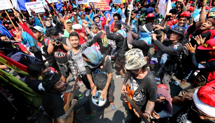 Foto Berita Soal UMK, Walkot Semarang: Daripada Demo Mending Ngomong Langsung