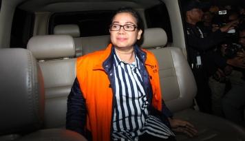 Foto Praperadilan Miryam Ditolak, KPK: Hak Angket Sudah Tak Relevan