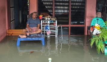 Foto Banjir Genangi Sejumlah Wilayah di Sidoarjo