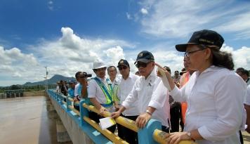 Foto Menteri PUPR Ingatkan Pentingnya Bangun Sistem Irigasi