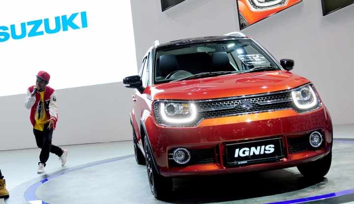Foto Berita Suzuki Suguhkan Ignis Rally Concept