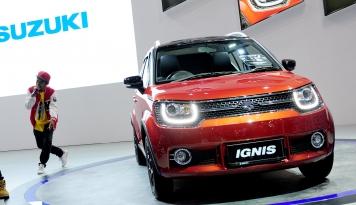 Foto Suzuki Ignis Jadi Mobil 'Rebutan' di IIMS 2017