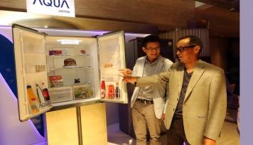 Foto Aqua Japan Luncurkan Empat Produk Inovatif