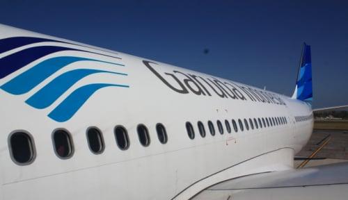 Foto Akhirnya Garuda Buka Penerbangan Rute Medan-Makassar