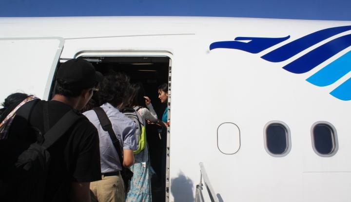 Foto Berita Garuda Catat Ketepatan Waktu 83%
