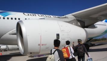 Foto Pemerintah Pusat Diminta Terbangkan Garuda ke Wakatobi