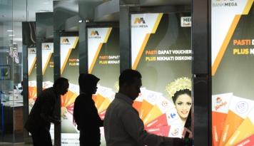 Bisnis Kartu Kredit Bank Mega Ditargetkan Tumbuh 5%