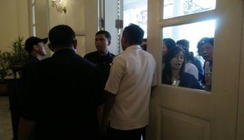 Foto Ada Spanduk 'Bersama Anis Baswedan Jakarta Damai, Kalau Gak Betah, Tinggalkan Jakarta'