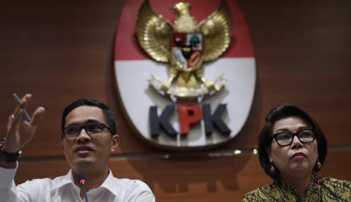 Foto KPU Umumkan 32 Caleg Tambahan Bekas Koruptor, KPK: Itu Positif