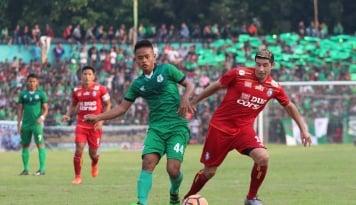 Foto Persib Sukses Bungkam Perseru, Vizcarra Senang Bisa Cetak Gol Lagi